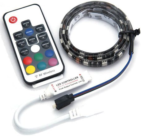 Temple Audio Design RGB LED Light Strip TRIO 28