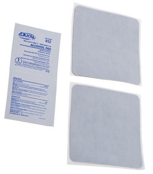 Temple Audio Design Replacement Adhesive Pads (large - pack of 2)