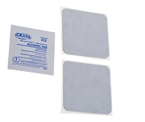 Temple Audio Design Replacement Adhesive Pads (medium - pack of 2)