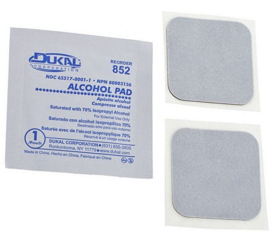 Temple Audio Design Replacement Adhesive Pads (small - pack of 2)