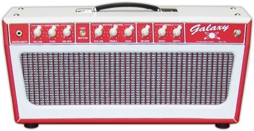 Tone King Amplifier Galaxy Head (red)