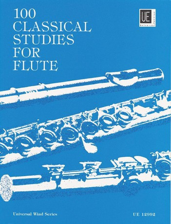 Universal Edition 100 Classical Studies FL Textbooks for Soprano Recorder