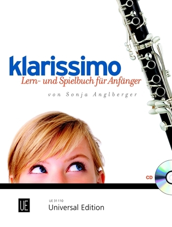Universal Edition Klarissimo Angelberger Sonja Songbooks for Clarinet