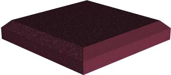 Universal acoustics Jupiter Wedge 300-50mm (burgundy) Acoustic Absorbers
