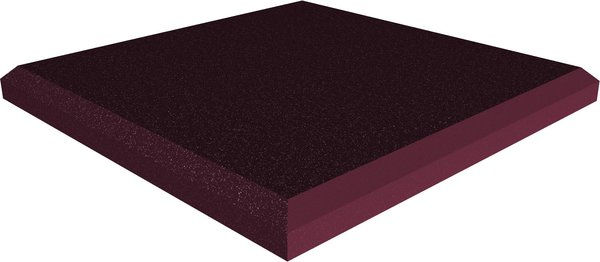 Universal acoustics Jupiter Wedge Flat 600-50mm (burgundy) Acoustic Absorbers