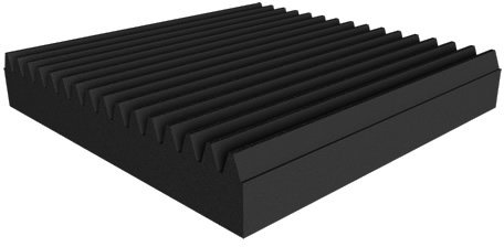 Universal acoustics Mercury Wedge 600-100mm (charcoal) Acoustic Absorbers