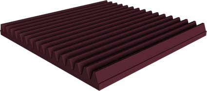 Universal acoustics Mercury Wedge 600-50mm (burgundy) Acoustic Absorbers