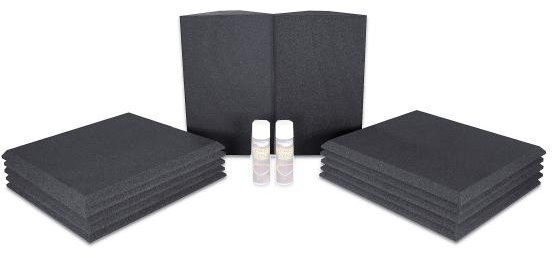 Universal acoustics Neptune 2 (charcoal) Acoustic Treatment Kits