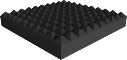 Universal acoustics Saturn Pyramid 600-100 mm (charcoal) Acoustic Absorbers
