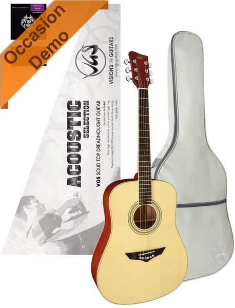 VGS Acoustic Selection B-Stock (Natural Satin) Acoustic Guitars