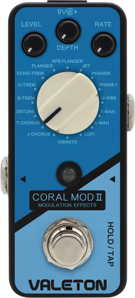 Valeton Coral Mod II / 16 Types of Modulation Modulation Pedale