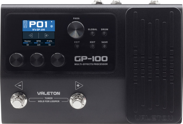 Valeton GP-100 / Multi-Effect Processor (with 9V power supply) Pedale Multi-Efect