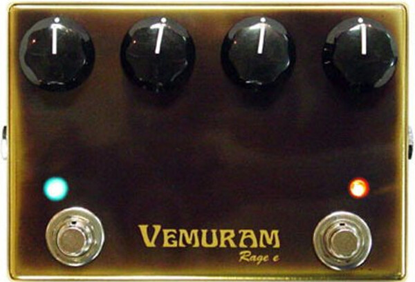 Vemuram Custom Pedals Rage e Distortion Pedals