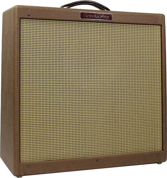 Victoria Amplifier Victorilux (3X10, brown tolex)