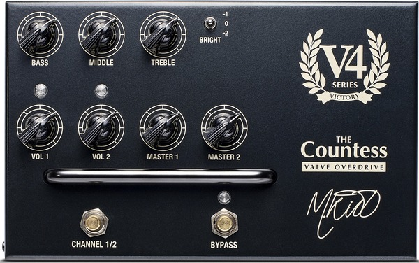 Victory Amplification V4 Pedal - The Countess Gitarren-Preamp-Pedal