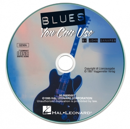 Voggenreiter Blues You Can Use / Ganapes, John (incl. CD)