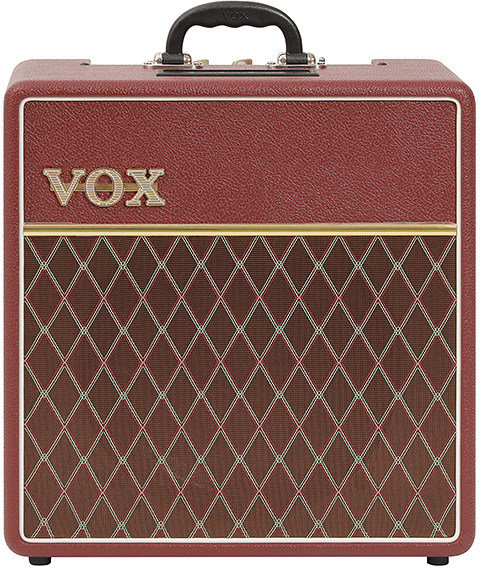 Vox AC4C1-12 Limited Edition Maroon Bronco (1x12' /4W) Tube Combo Guitar Amplifiers