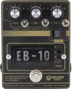 Walrus Audio EB-10 (black)