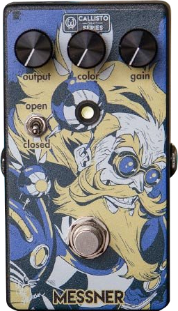 Walrus Audio Limited Edition - Callisto - Messner Transparent (light-gain overdrive)
