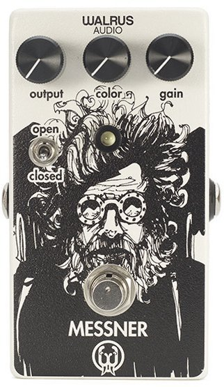Walrus Audio Messner Overdrive Messner Transparent Light-Gain Overdrive