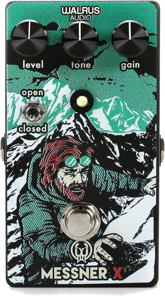 Walrus Audio Messner X Transparent Overdrive