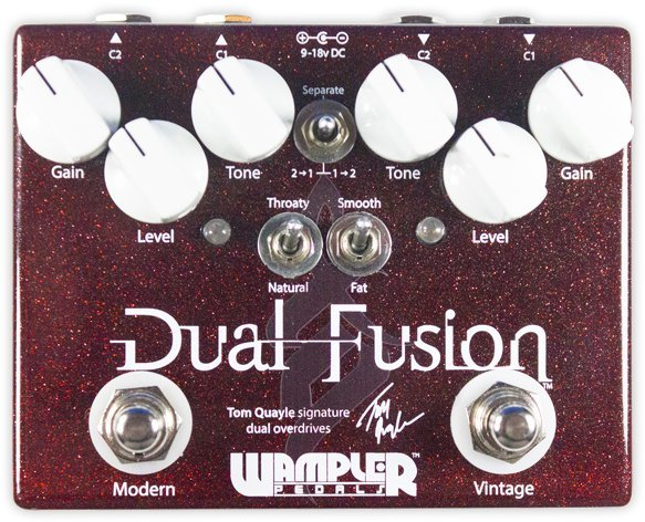 Wampler Pedals Dual Fusion / new design