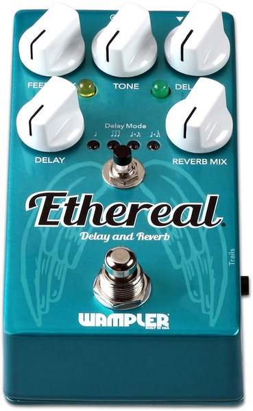 Wampler Pedals Ethereal Reverb and Dual-Delay Pedal