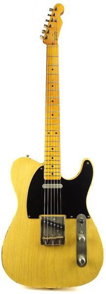 Whitfill Custom Guitars Relic'd T-Style MN (butterscotch blonde/light relic)