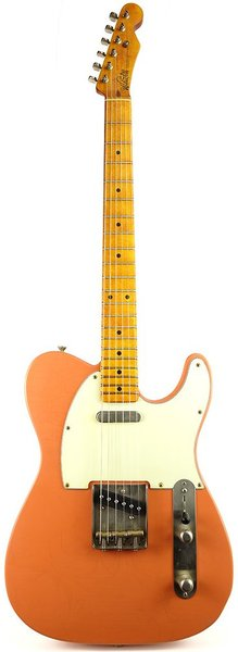 Whitfill Custom Guitars Relic'd T-Style MN (coral/light relic)