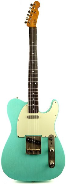 Whitfill Custom Guitars Relic'd T-Style RW (seafoam green/light relic)