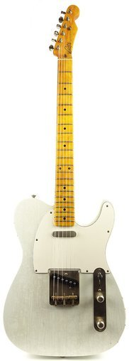Whitfill Custom Guitars Relic'd T-Style Whiteguard (olympic white)