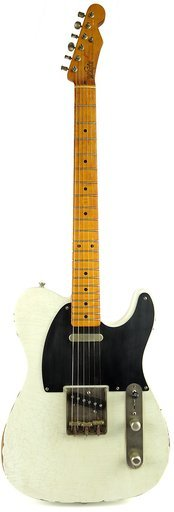 Whitfill Custom Guitars Whitfill Relic'd T-Style (olympic white)