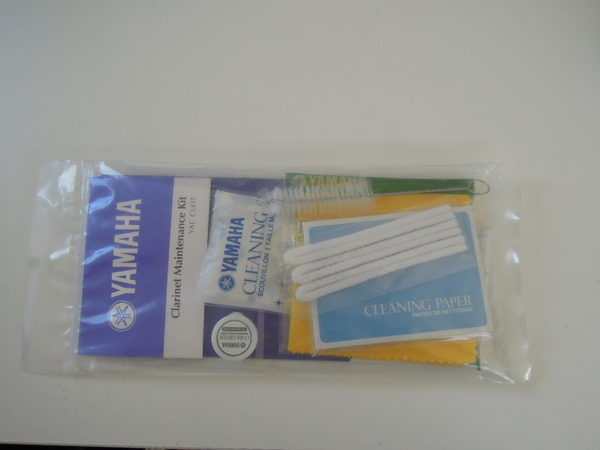Yamaha Clarinet Maintenance Kit Clarinet Cleaning & Care