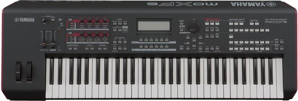 Yamaha MOXF 6 Synthesizer/Tasten