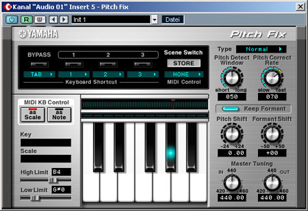 Yamaha Pitch Fix VST