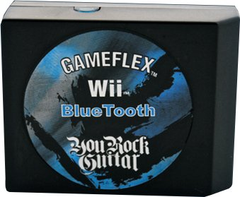 You Rock Guitar YRGF-1102 Game Flex Bluetooth Cart. Wii Guitar Wireless Controllers