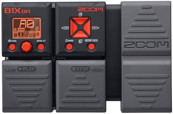 Zoom B1Xon Bass Multi-Effect Pedals