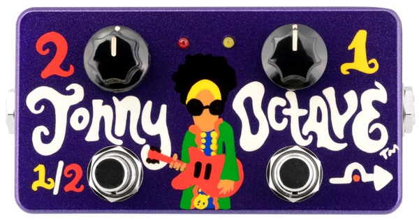 Zvex Jonny Octave (Hand Painted) Octaver Pedals