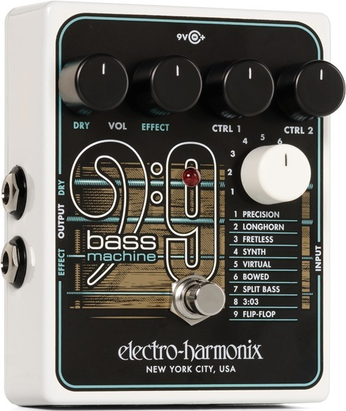 electro-harmonix BASS9 Bass Machine Octave Pedale