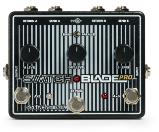 electro-harmonix SwitchBlade Pro Deluxe Switcher Effect Pedal Switchers