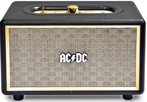 iDance AC/DC Vintage Portable Bluetooth Speaker (black) Docks and PA for Mobile Devices