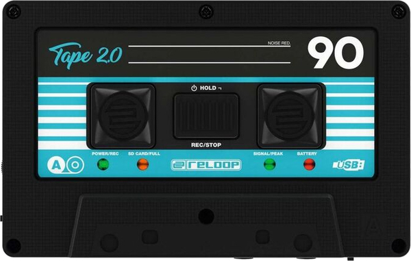 reloop Tape 2 Portable Mixtape Recorder