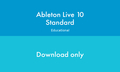Ableton Live 10 Standard Edition EDU ESD (download version)