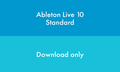 Ableton Live 10 Standard Edition ESD (download edition)