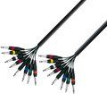 Adam Hall Multicore Mono Cable (8 x 6,3mm Jack - 5m)
