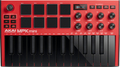Akai MPK Mini MK3 (red) Master Klavijature do 25 tastera