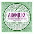 Aranjuez 400 Set Concert Silver (Hard Tension)