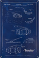 Bigsby Blueprint Tin Sign
