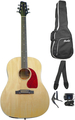 BlackLine SA-35 DS-N Starterset (natural) Acoustic Guitar Beginner Packs