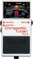Boss TU-3 Chromatic Tuner Guitar / Bass Pedal Tuner